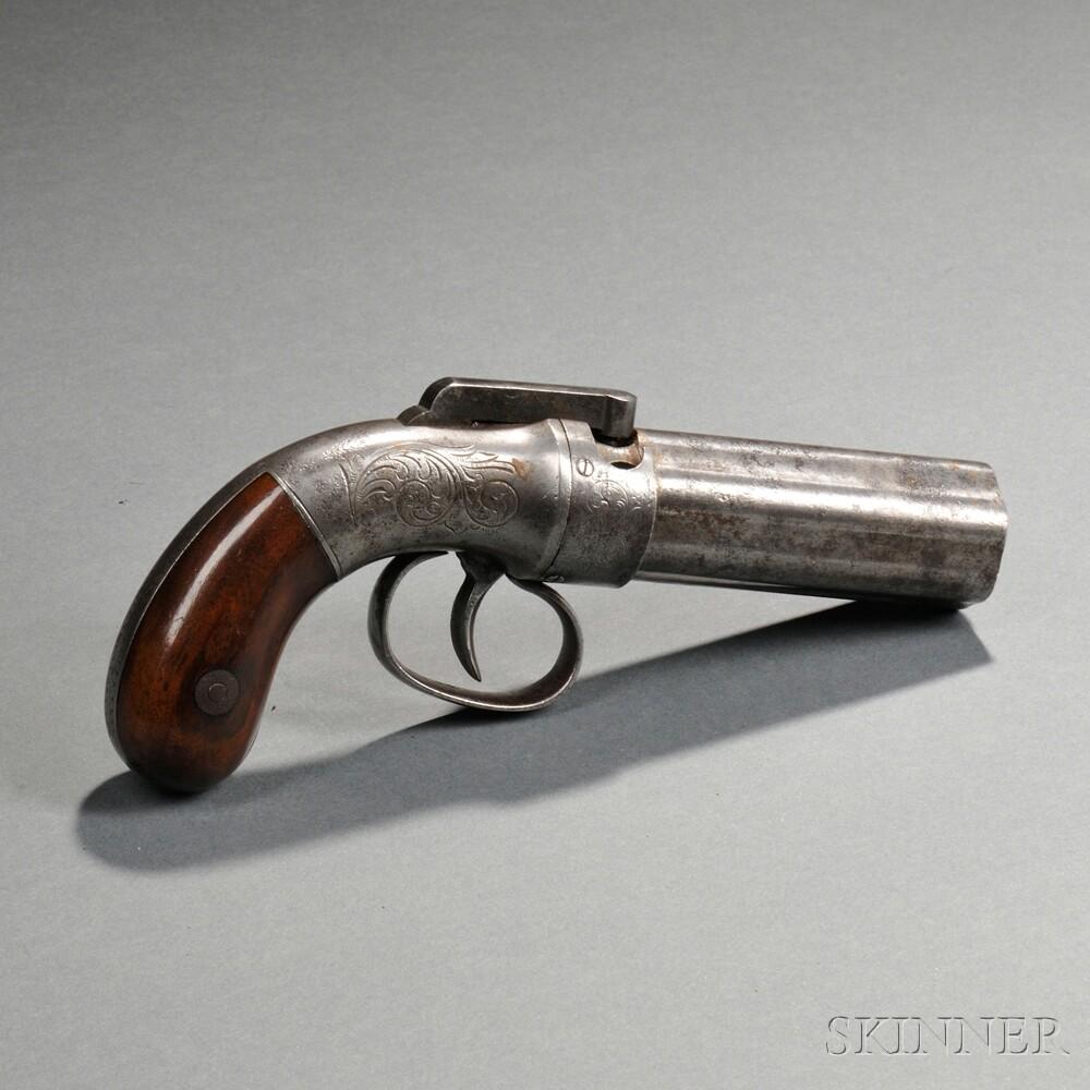 Allen & Thurber Six-shot Pepperbox Pistol