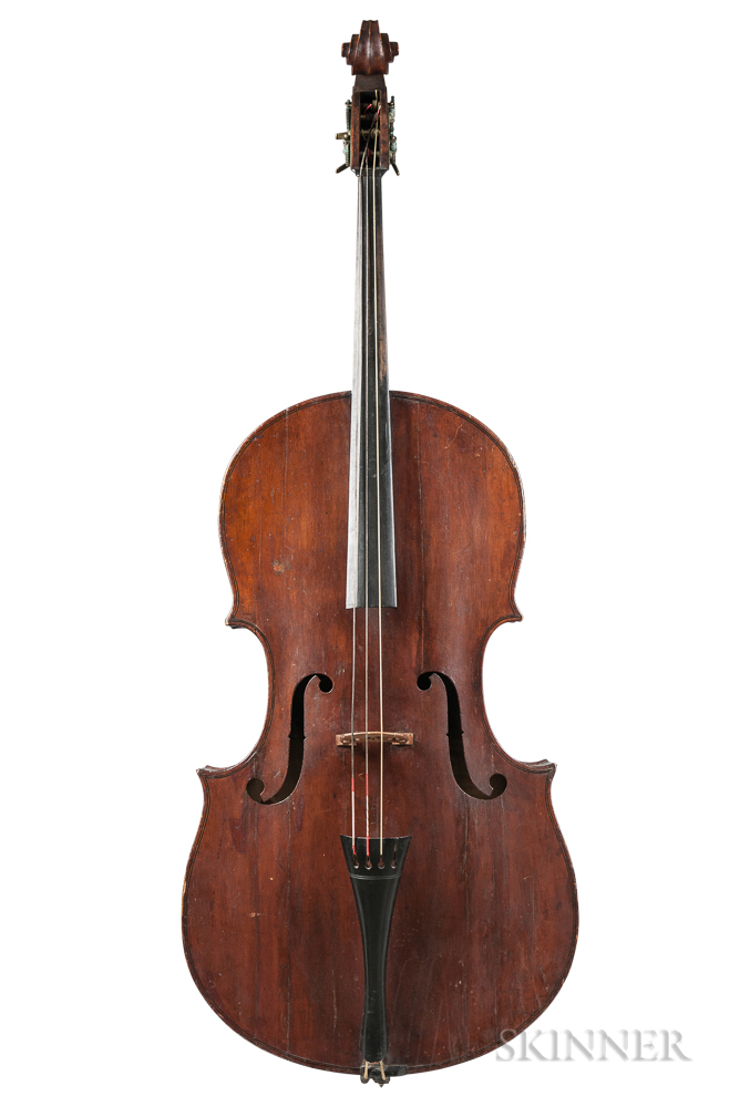 American Church Bass, Moses A. Tewkesbury, Chester, 1840