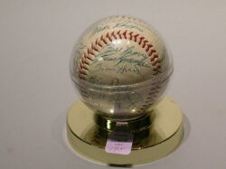 1953 Ted Williams Autographed Baseball.