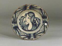 Delft Blue and White Tin Glazed Earthenware Bowl