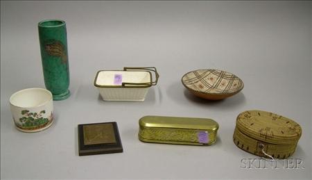 Seven Assorted Decorative Items