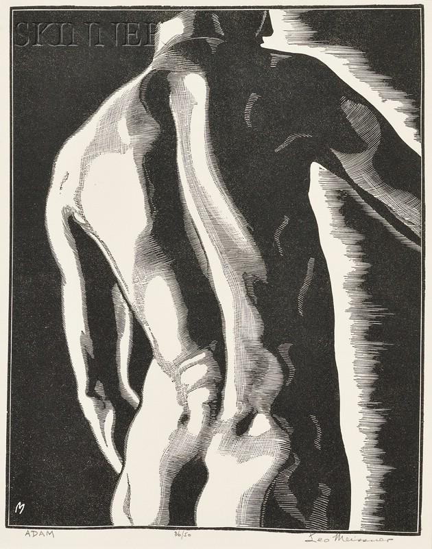 Leo John Meissner (American, 1895-1977)      Adam