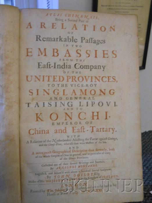 (China,Travel), Montanus, Arnoldus (1625?-1683)