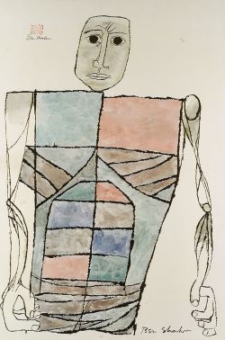 Ben Shahn (Russian/American, 1898-1969)  Ben Shahn Philadelphia Museum of Art,