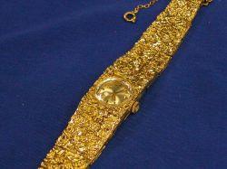 Woman's 18kt Gold Girard Perregaux Wristwatch