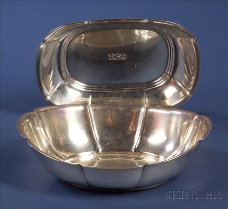 Gyllenberg & Swanson Arts & Crafts Sterling Fruit Bowl