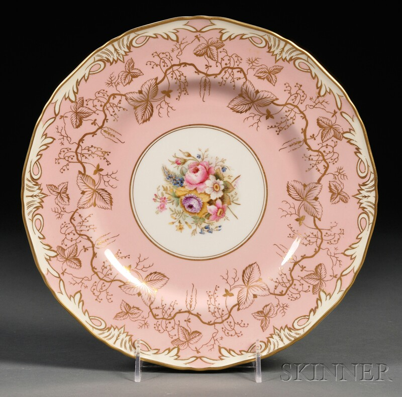 Twelve Royal Worcester Bone China Service Plates