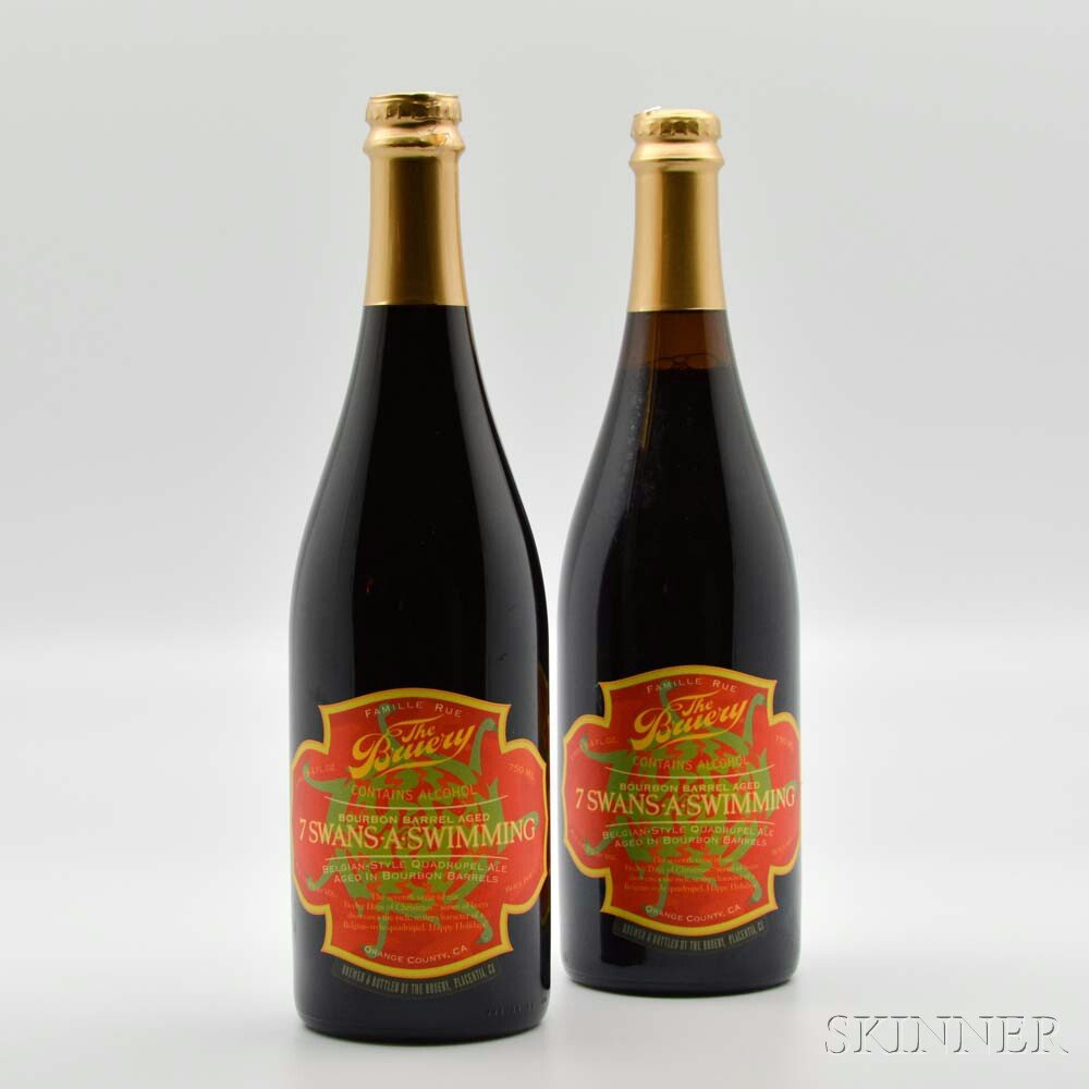 The Bruery 7 Swans a Swimming 2015, 2 bottles