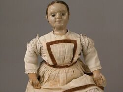Large Early Izannah Walker Cloth Doll