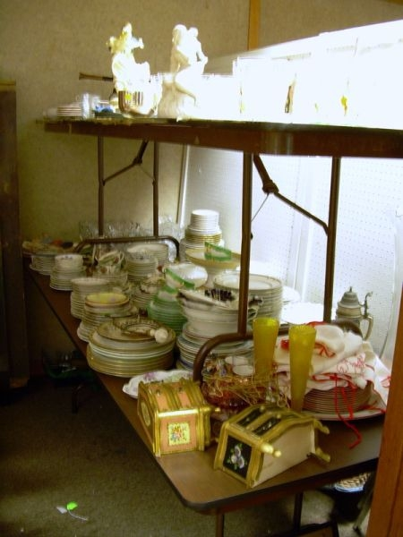 Large Lot of Assorted Decorative Porcelain, Glass, and Table Articles.