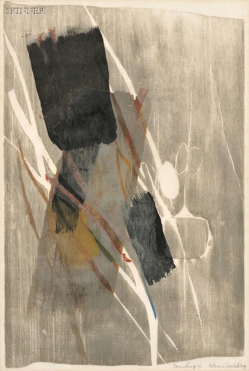 Jack Sonenberg (American, b. 1925)      Soundings IV