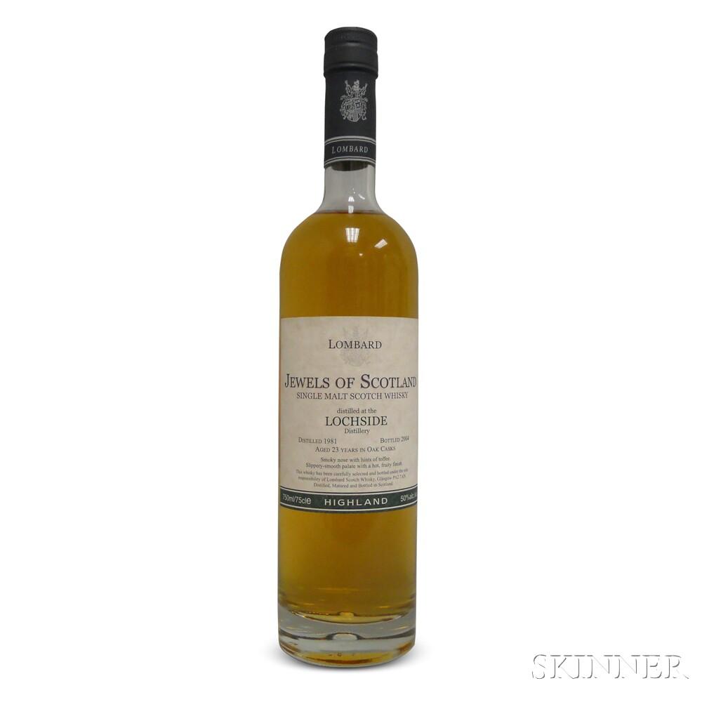 Lochside 23 Years Old 1981, 1 750ml bottle