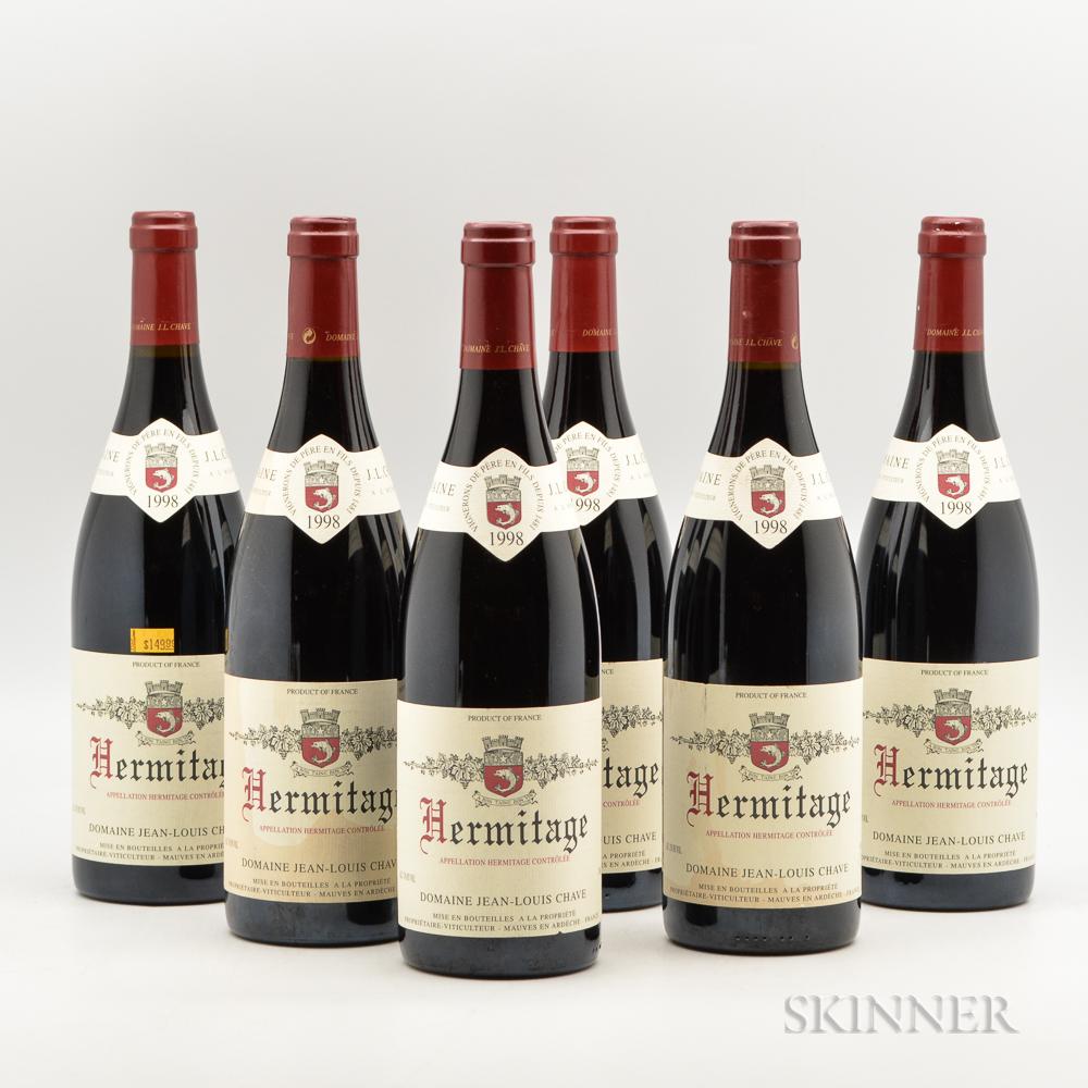 J.L. Chave Hermitage 1998, 6 bottles