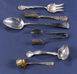 Six Sterling Flatware Items