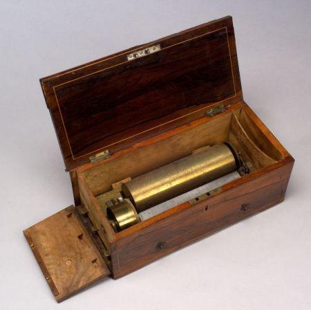 Fine Key-Wind Overture Musical Box by Ducommun-Girod