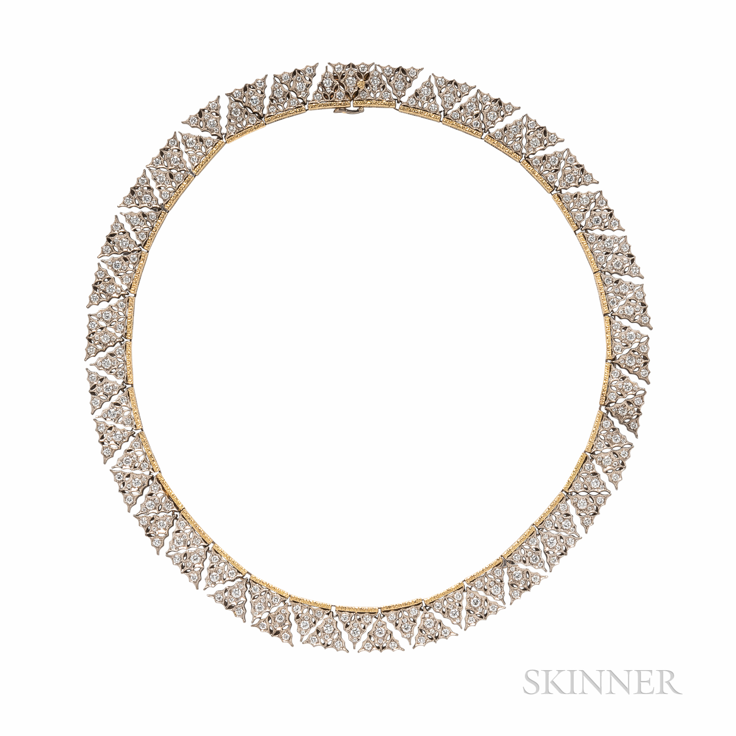 18kt Gold and Diamond Necklace