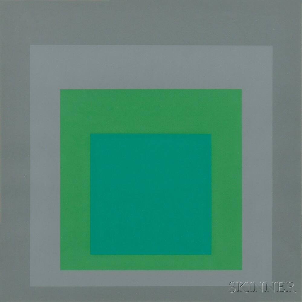 Josef Albers (German/American, 1888-1976)      Untitled
