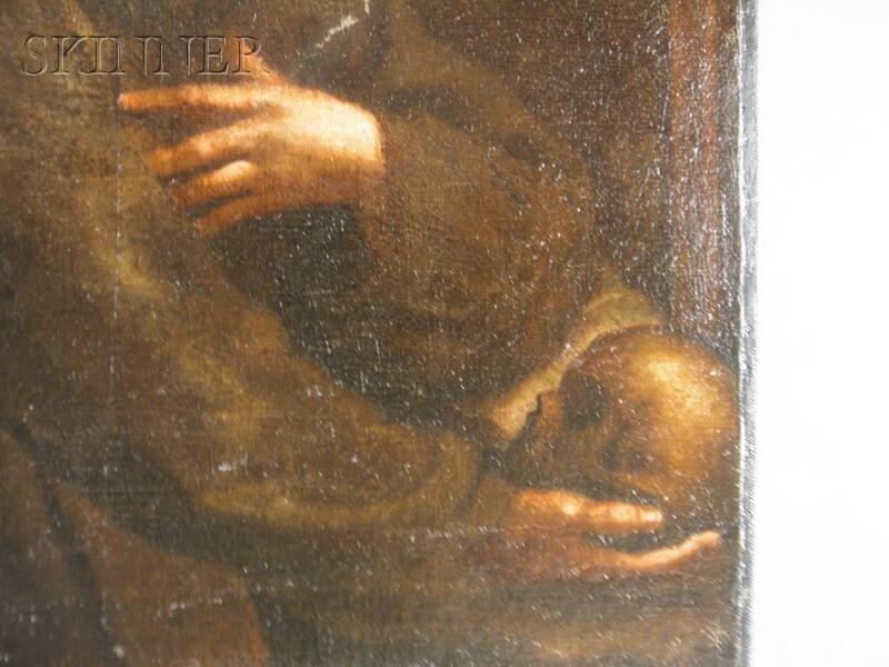 School of Guido Reni (Italian, 1574/5-1642)      Saint Francis
