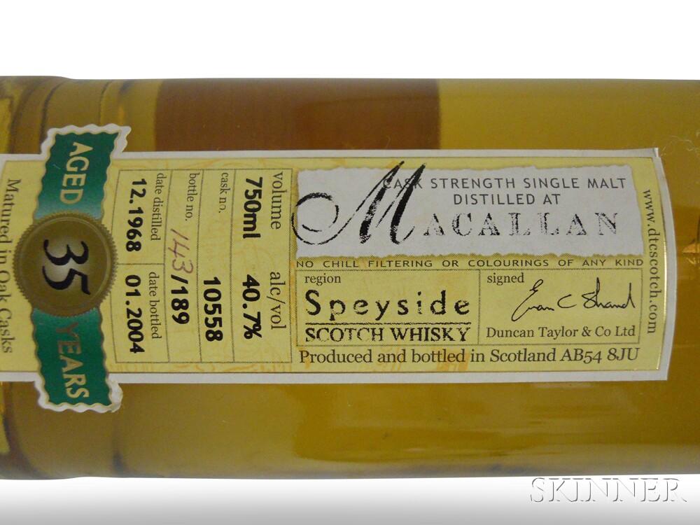 Macallan 35 Years Old 1968, 1 750ml bottle