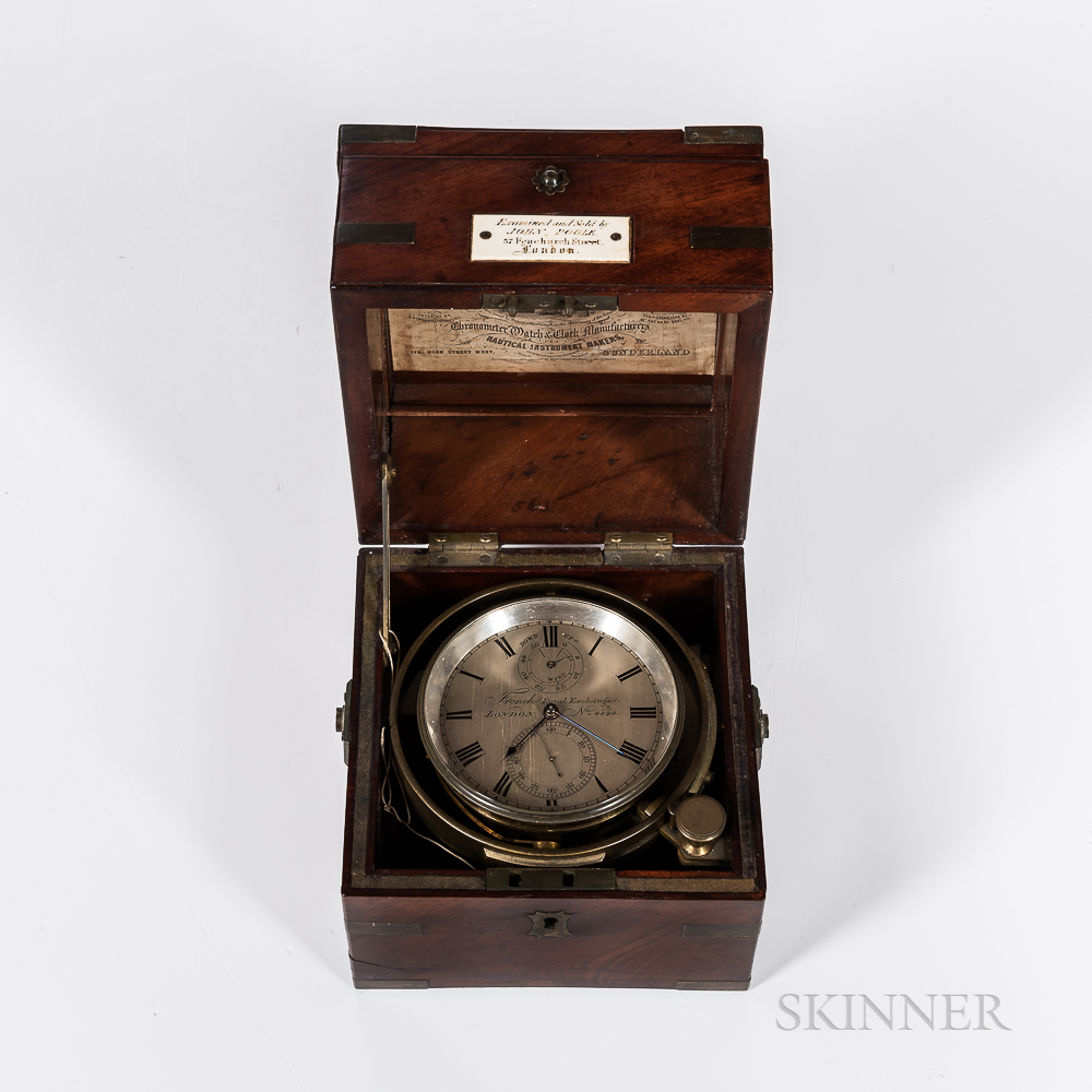 Two-day Marine Chronometer by French