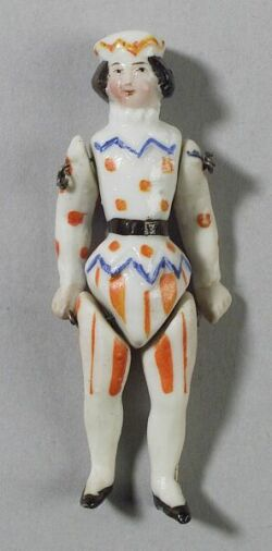 Small Jointed China Clown