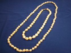 Two Strands of Baroque Pearls.
