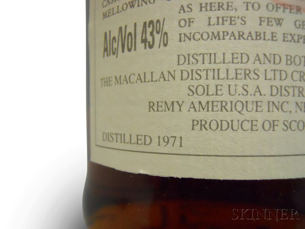 Macallan Anniversary 25 Years Old 1971, 1 750ml bottle (owc)