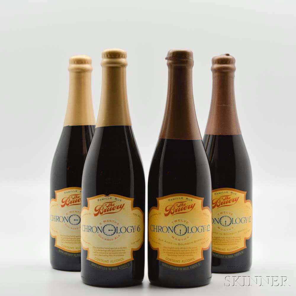 The Bruery Chronology, 4 bottles