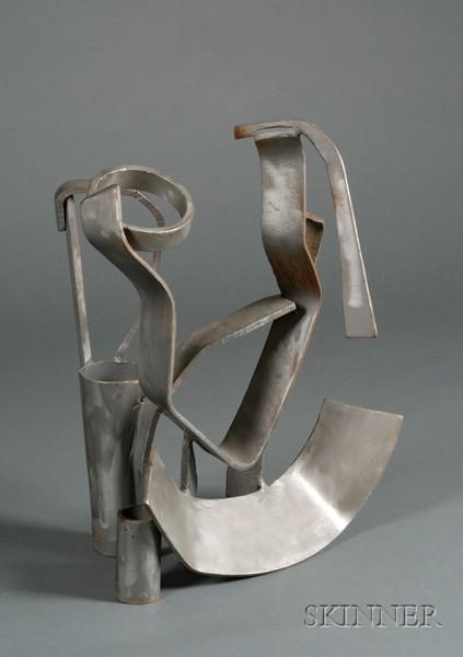 David Shapiro (American, b. 1922)      Geometric Abstract Sculpture