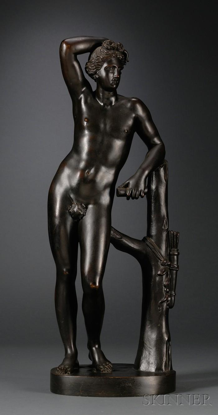 Grand Tour Bronze Figure of Apollo