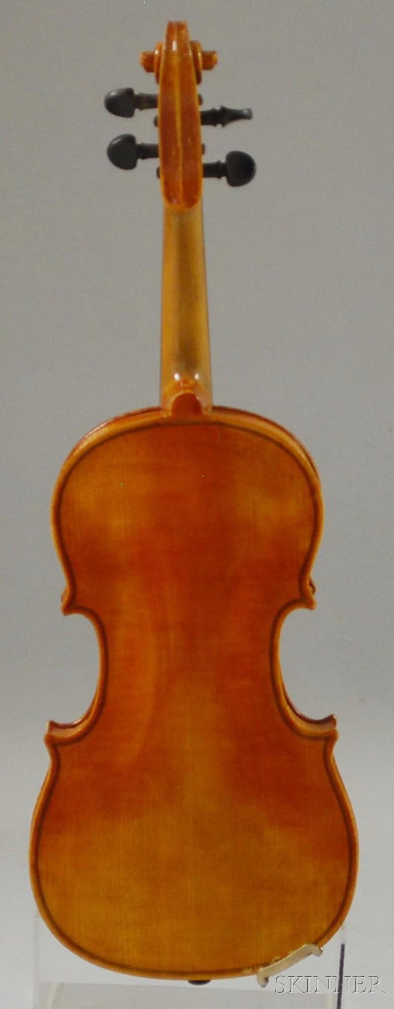 Child's German Violin, c. 1920