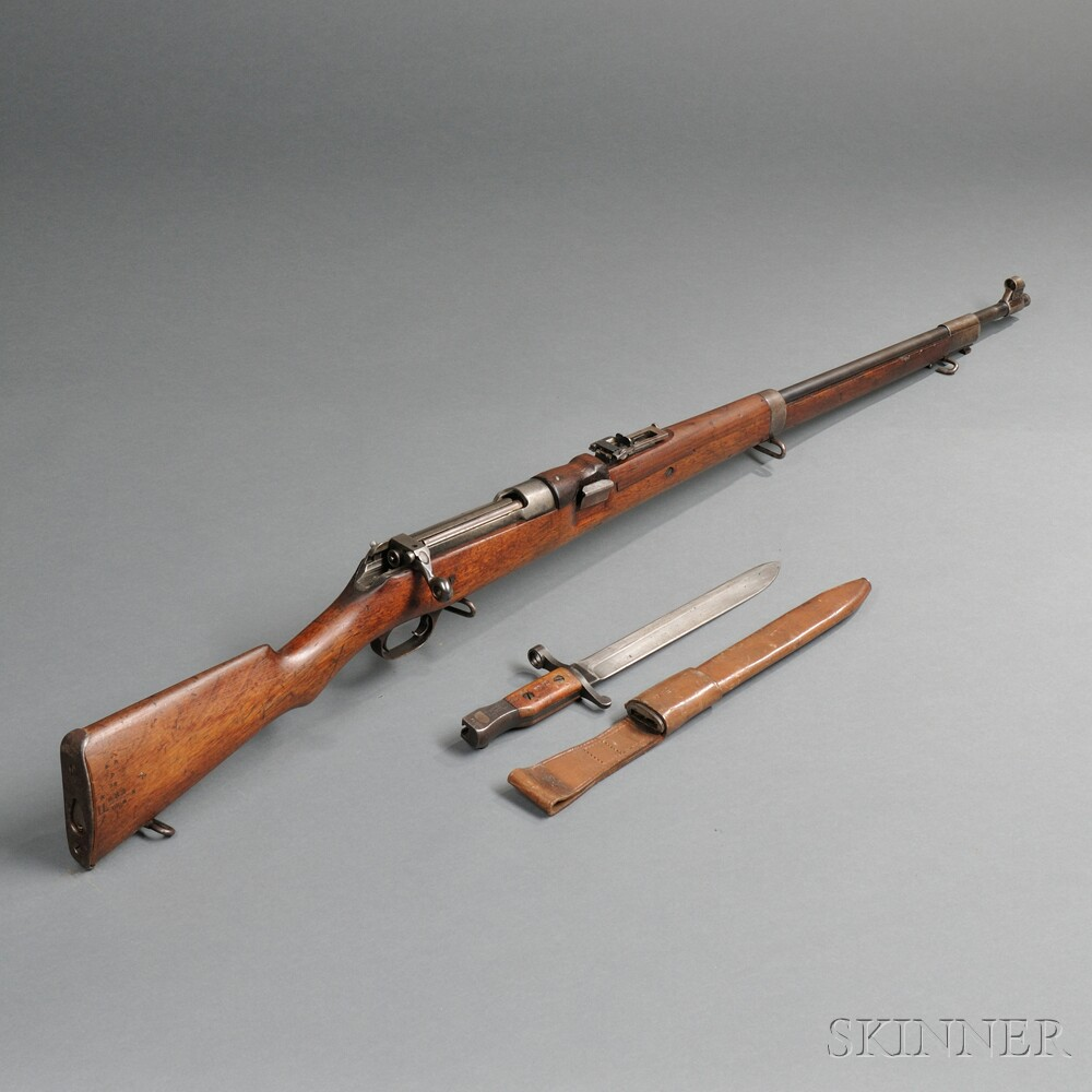 Model 1905 Ross Rifle and Bayonet