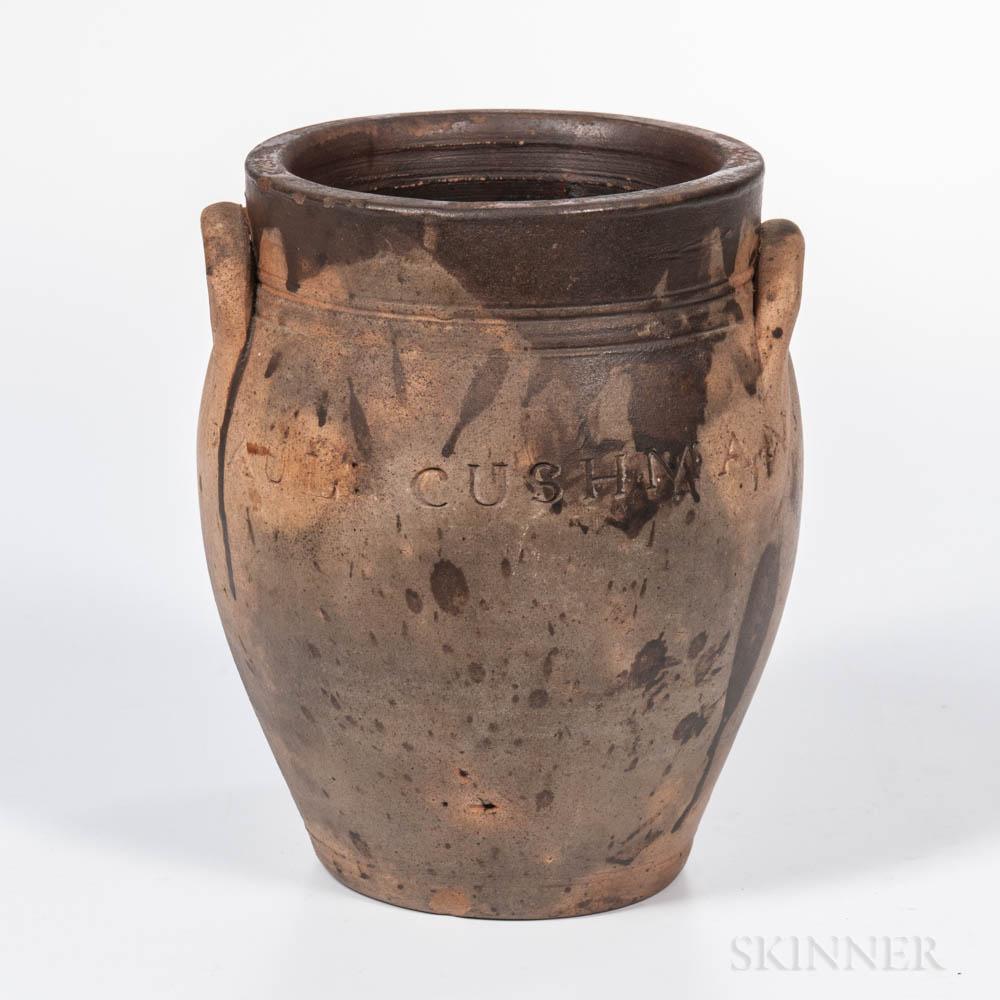 Paul Cushman Stoneware Jar