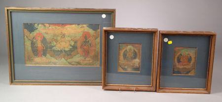 Three Painting Fragments