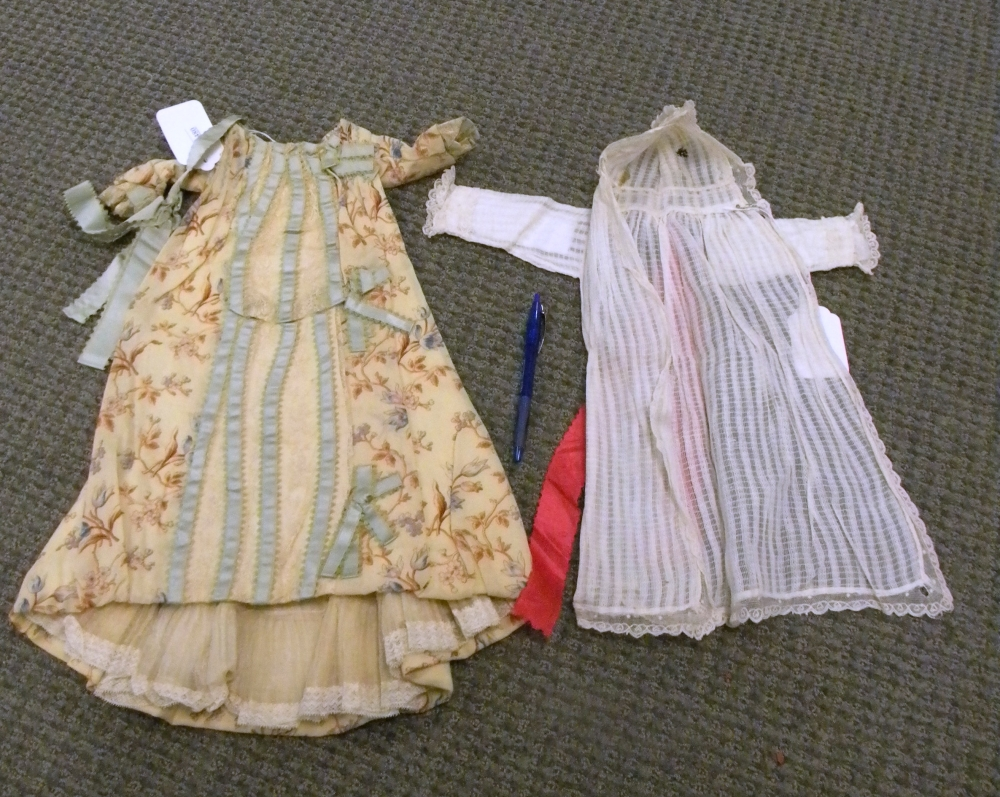 Group of 19th and Early 20th Century Doll Clothing and Accessories