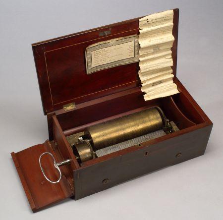 Key-Wind Two-Per-Turn Musical Box by Ducommun-Girod
