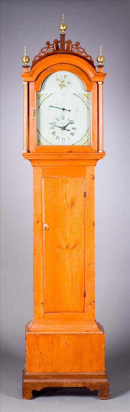 John Edwards, Ashby Massachusetts Tall Clock