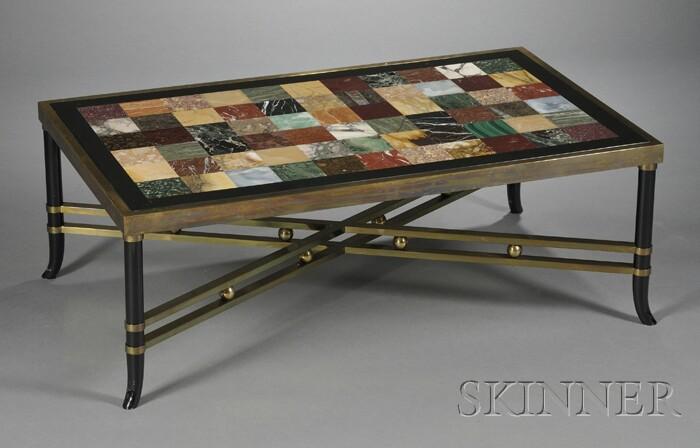 Marble Specimen Table