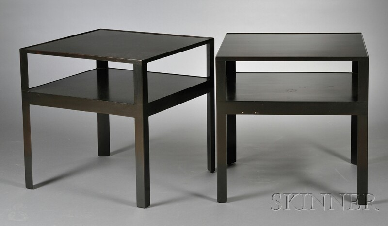 Two Dunbar End Tables