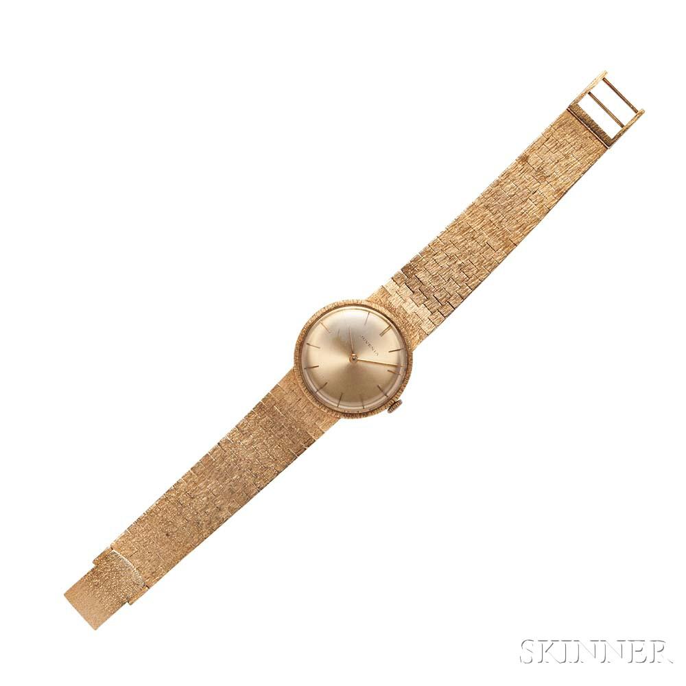 Gentleman's 14kt Gold Wristwatch, Juvenia
