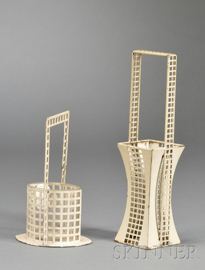 Flower Baskets, Design Attributed to Josef Hoffmann