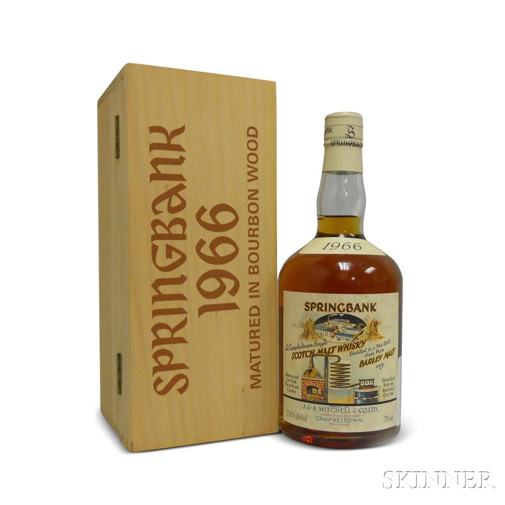 Springbank Local Barley 31 Years Old 1966, 1 750ml bottle (owc)