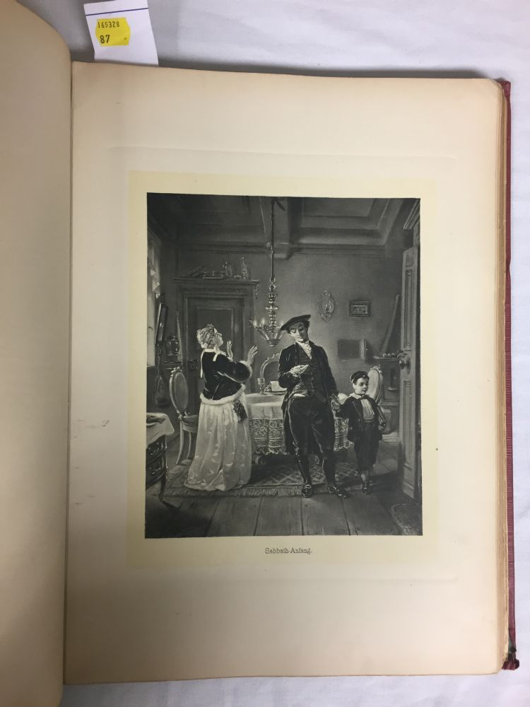 Oppenheim, Moritz,   Bilder aus dem Altjüdischen Familienleben [Pictures of Old Jewish Family Life]
