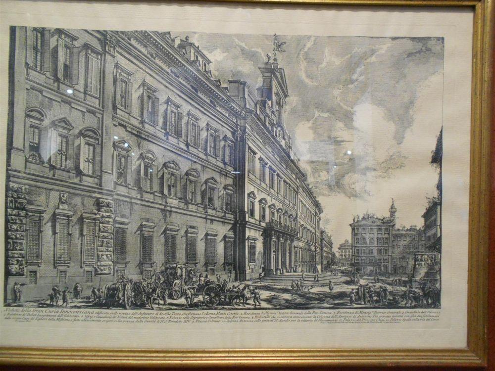 Giovanni Battista Piranesi (Italian, 1720-1778), Four Framed Prints: Veduta della Basilica di S.Giovanni Laterano, Veduta della vasta F