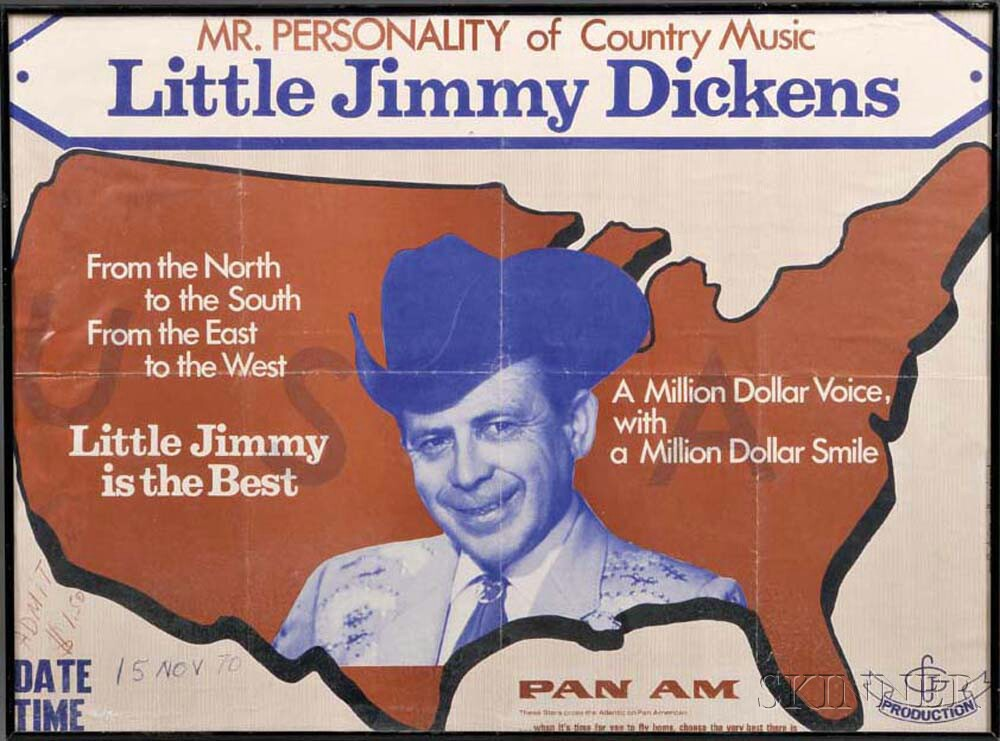 """""""Mr. Personality of Country Music"""" Poster"""
