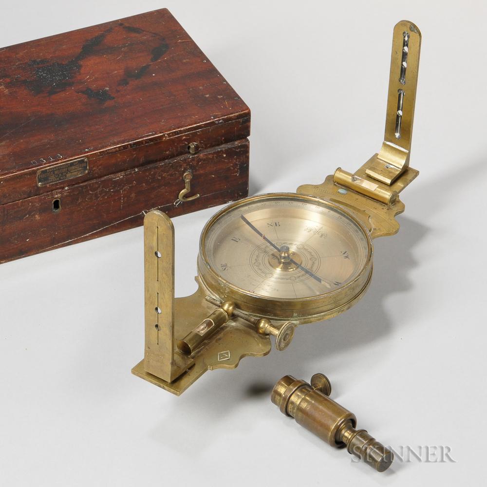 Gregg & Rupp Vernier Surveyor's Compass
