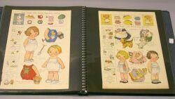 Album of Dolly Dingle Uncut Magazine Sheets