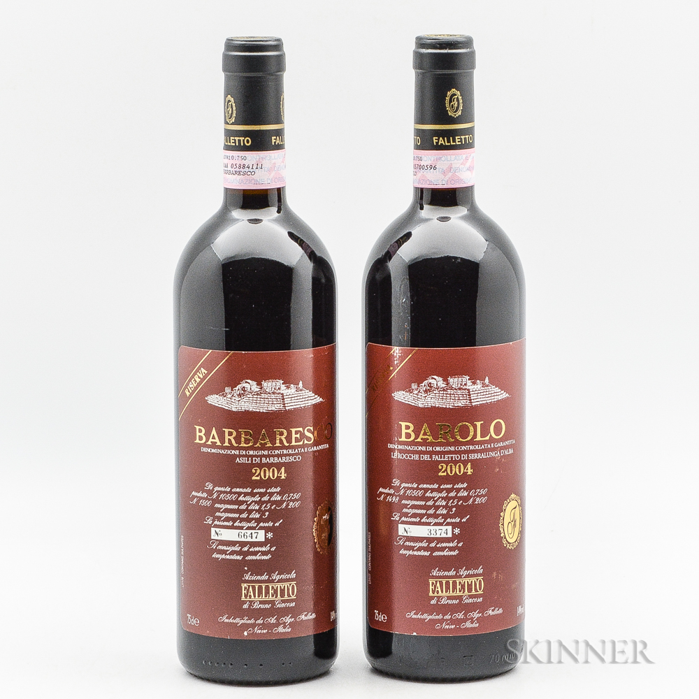 Bruno Giacosa, 2 bottles