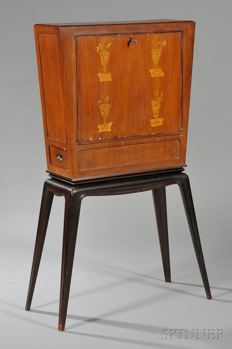 Italian Modernist Liquor Cabinet