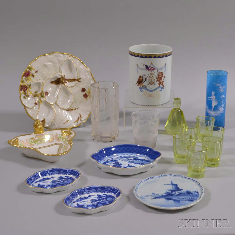 Group of Assorted Ceramic and Glass Items